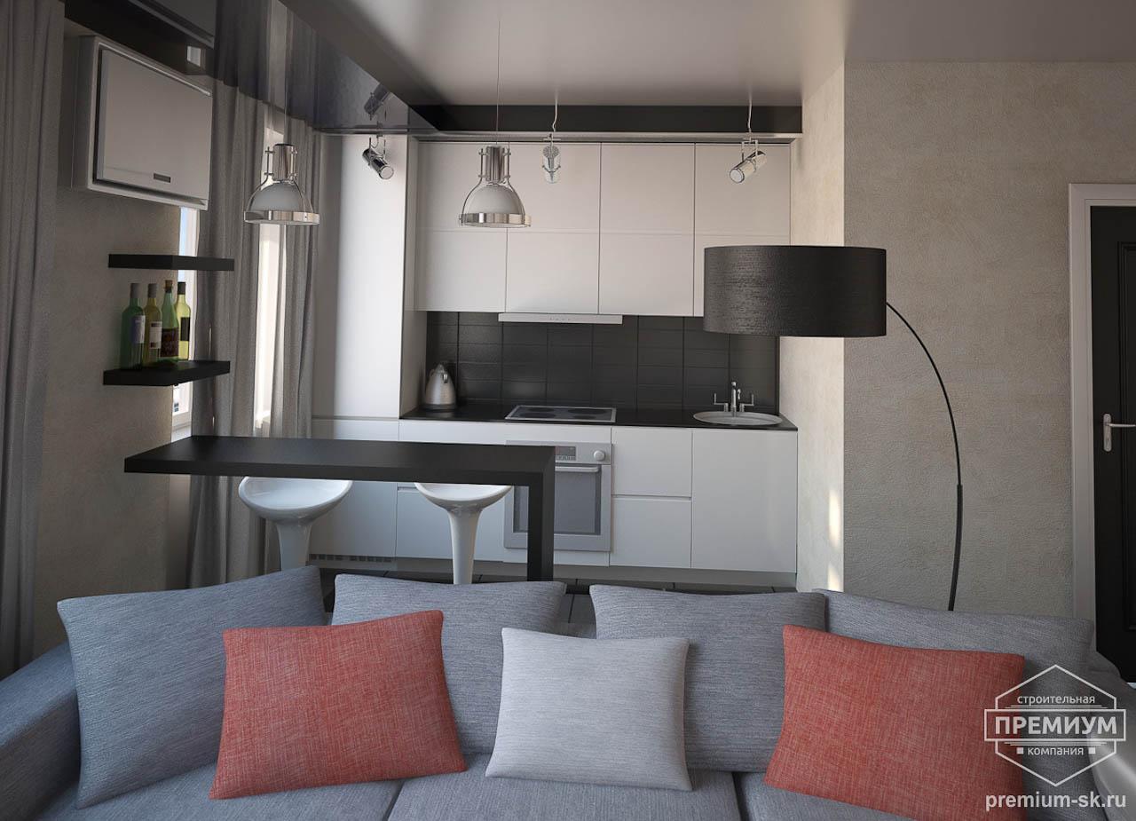 Дизайн интерьера однокомнатной квартиры по ул. Крауля 56 img981660343