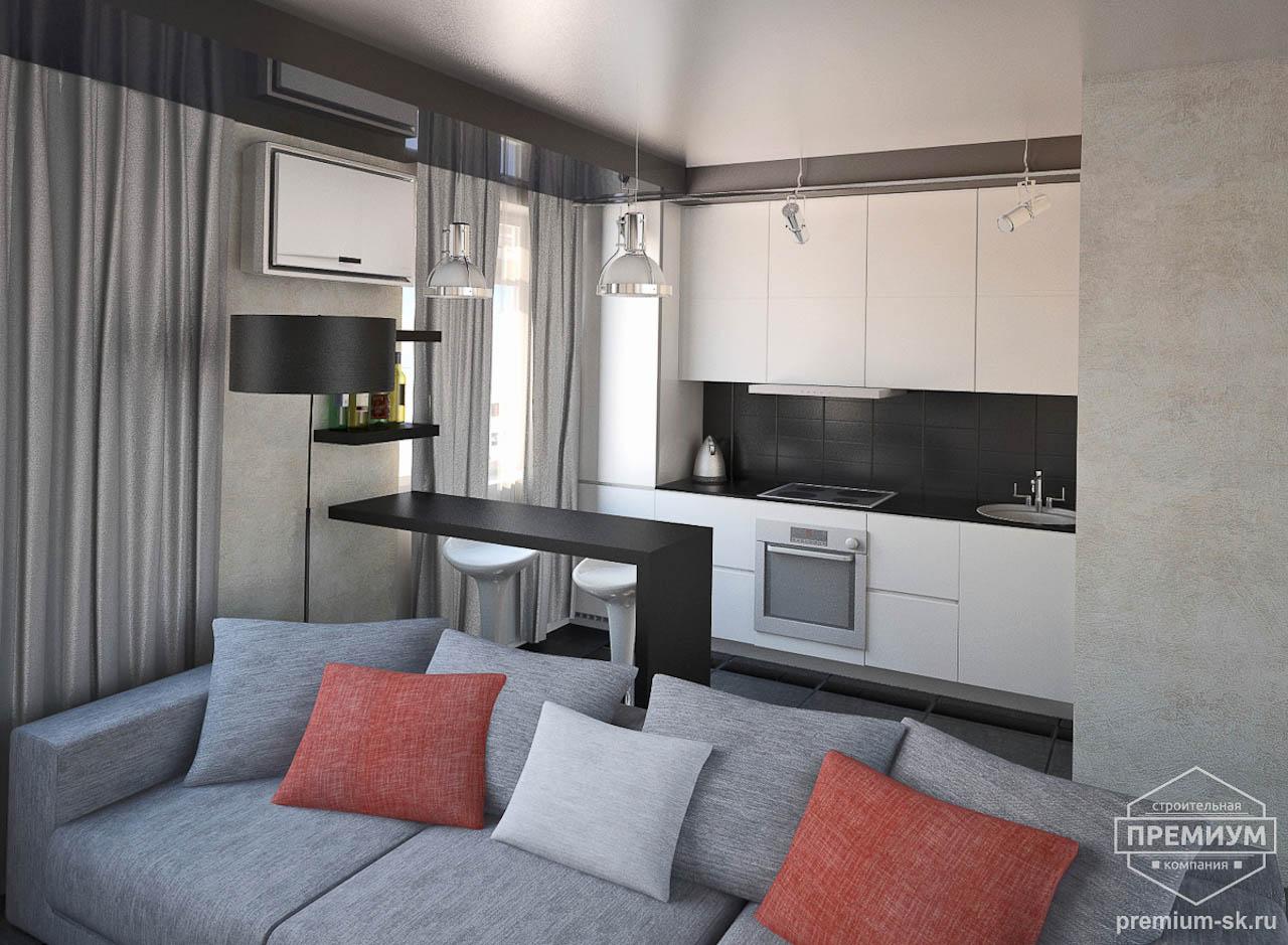 Дизайн интерьера однокомнатной квартиры по ул. Крауля 56 img1029105399