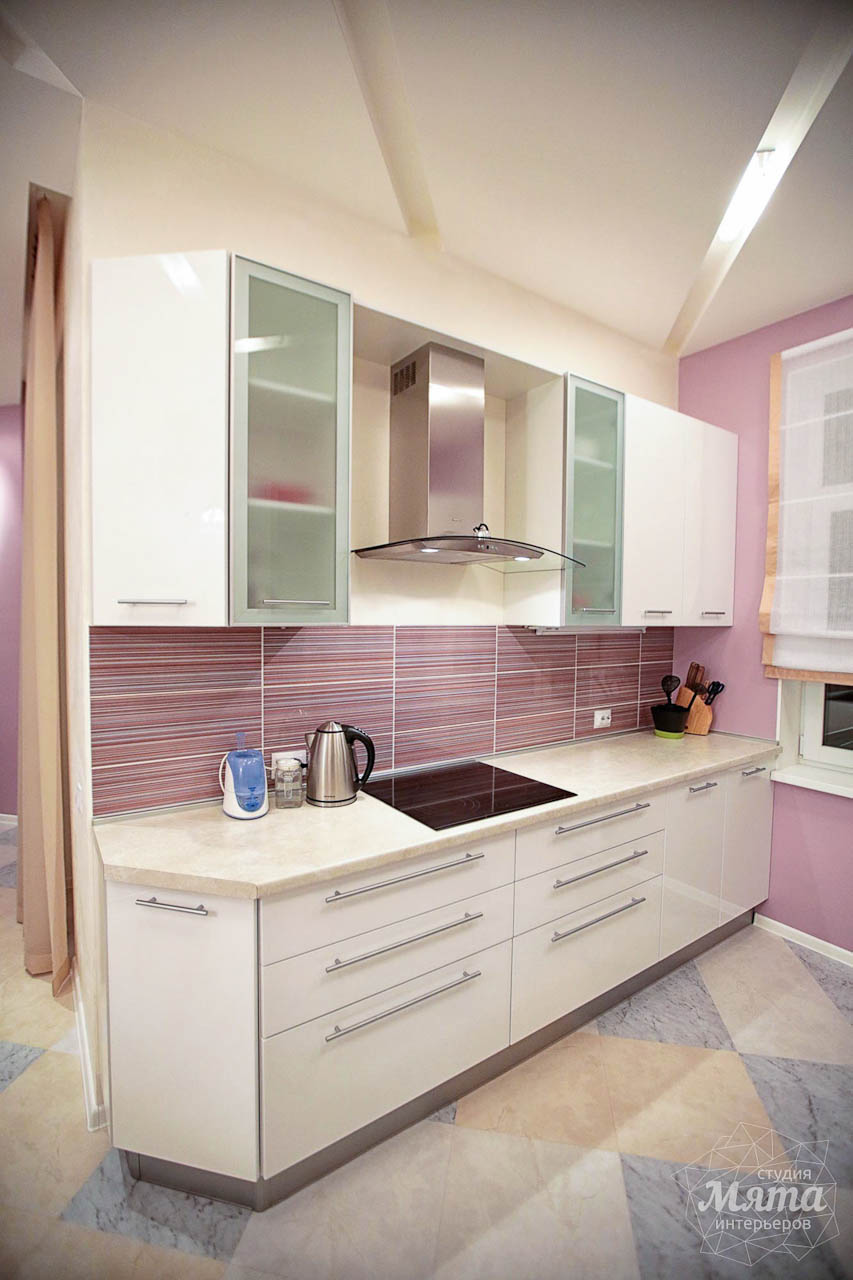 Дизайн интерьера и ремонт трехкомнатной квартиры по ул. Чкалова 124 10
