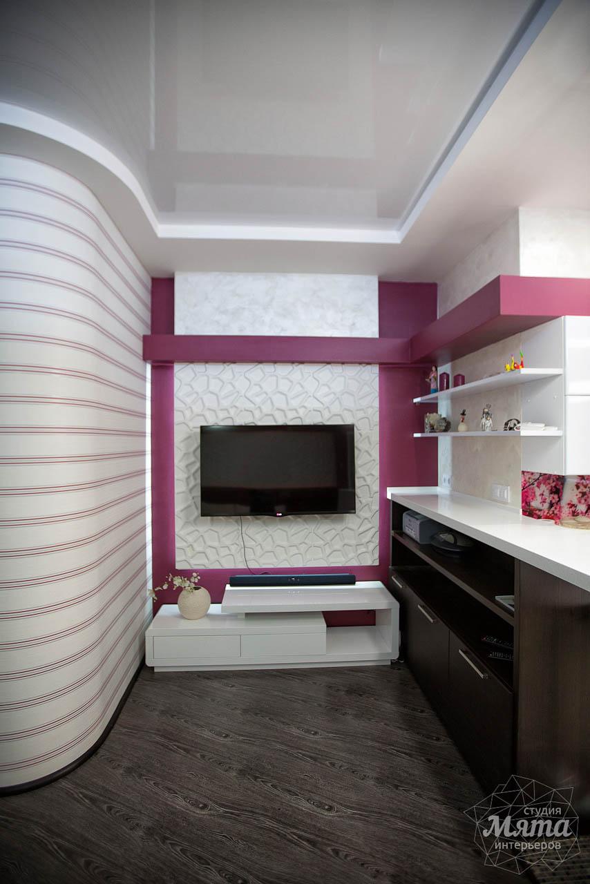 Дизайн интерьера и ремонт трехкомнатной квартиры по ул. Попова 33а 12