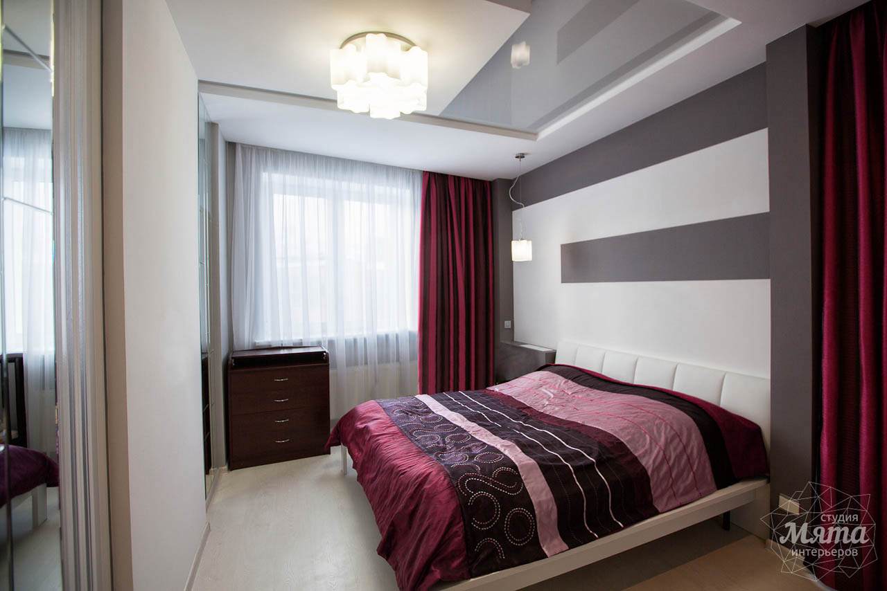 Дизайн интерьера и ремонт трехкомнатной квартиры по ул. Попова 33а 21