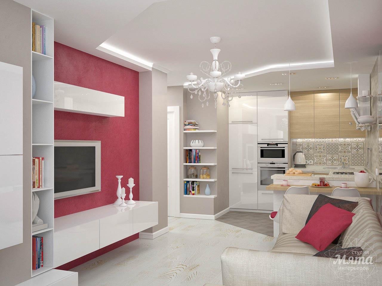 Дизайн интерьера и ремонт трехкомнатной квартиры по ул. Фучика 9 img58306572