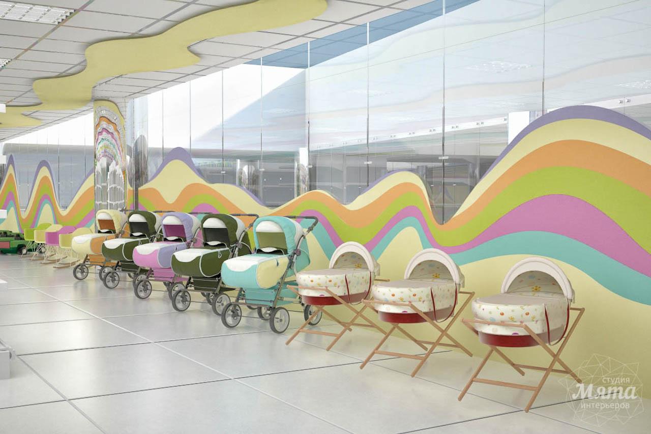 Дизайн интерьера и ремонт детского гипермаркета по ул. Щербакова 4 img826583002