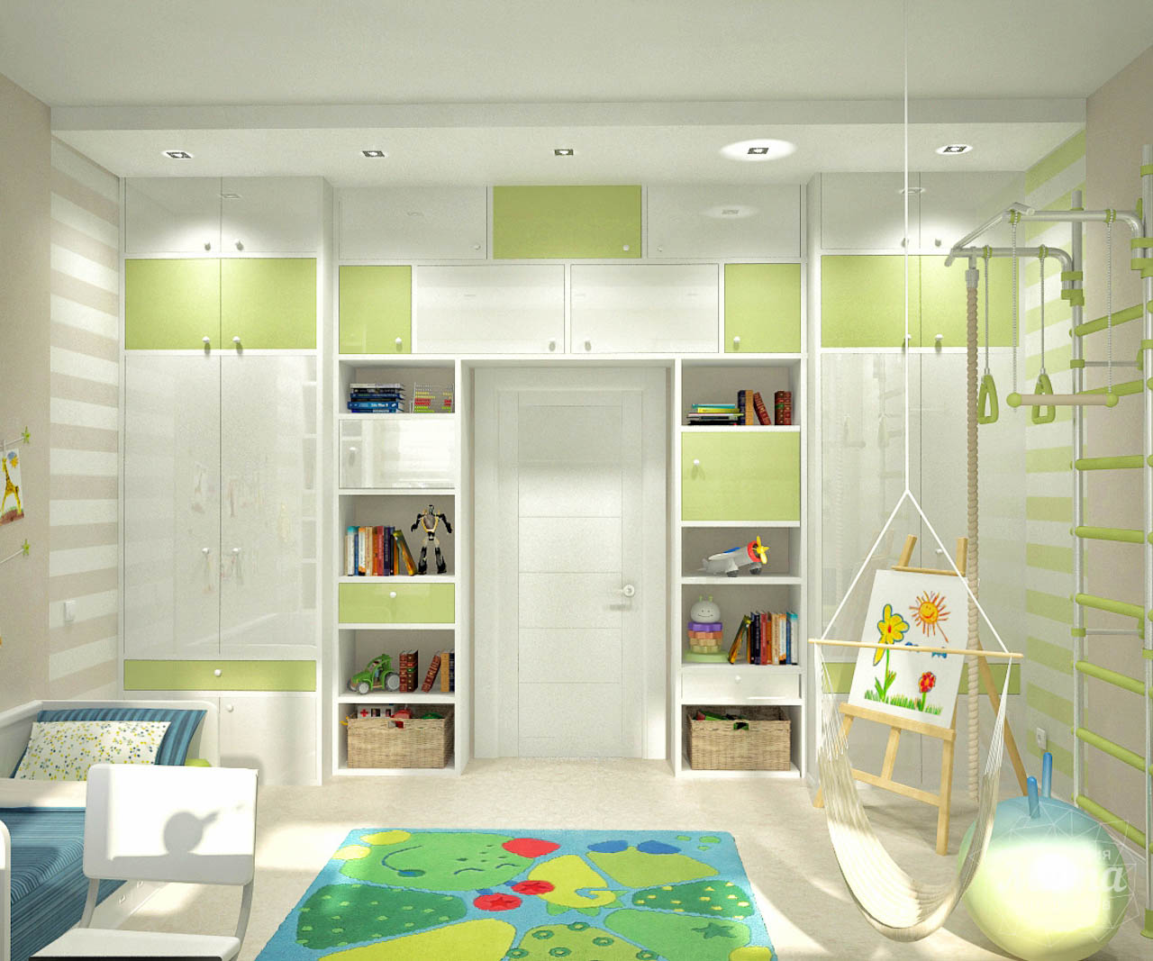 Дизайн интерьера и ремонт трехкомнатной квартиры по ул. Чкалова 124 img999435495