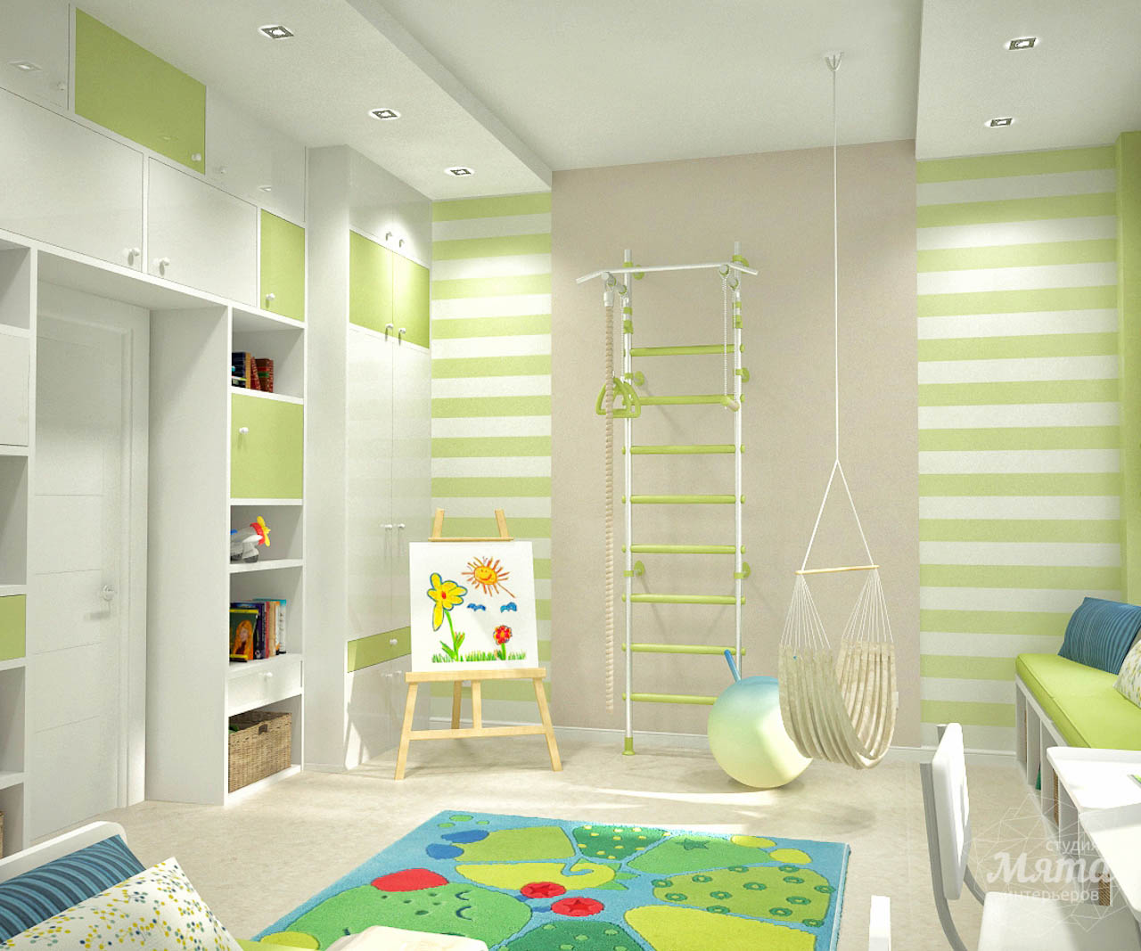 Дизайн интерьера и ремонт трехкомнатной квартиры по ул. Чкалова 124 img868686408