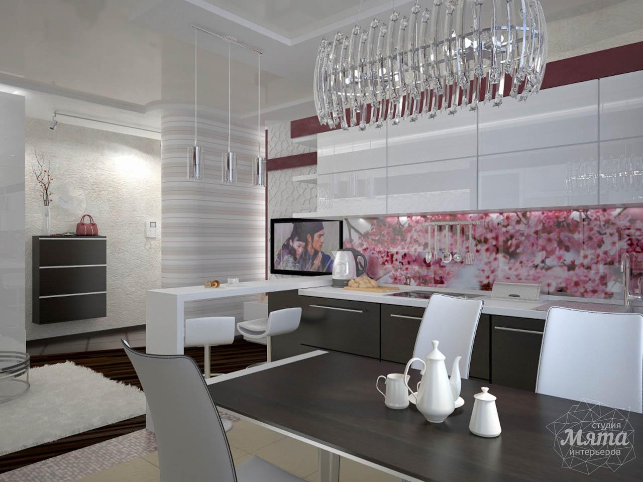 Дизайн интерьера и ремонт трехкомнатной квартиры по ул. Попова 33а img197307148