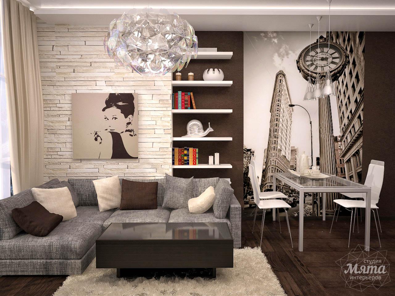 Дизайн интерьера трехкомнатной квартиры по ул. Папанина 18 img867620988