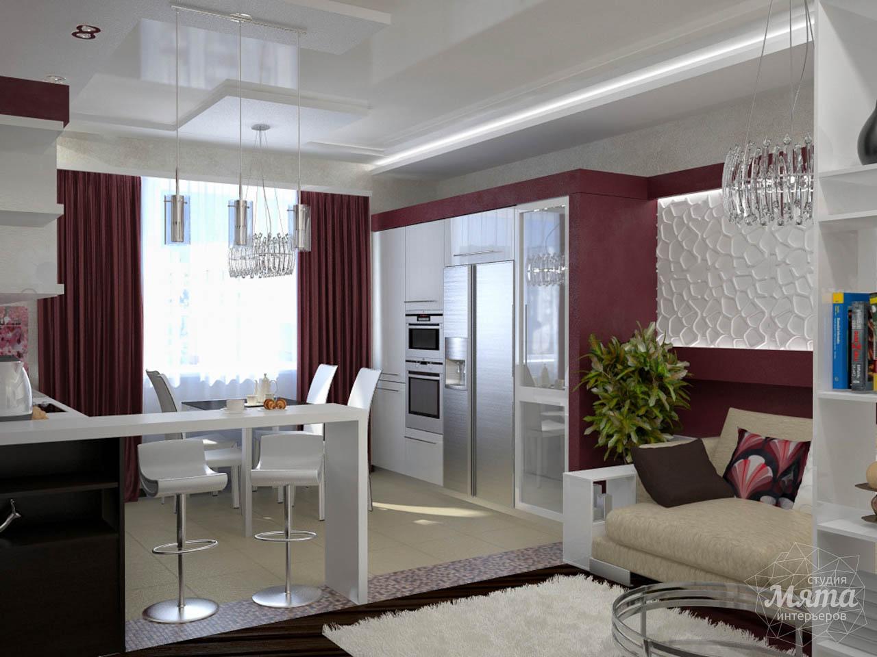 Дизайн интерьера и ремонт трехкомнатной квартиры по ул. Попова 33а img475556444