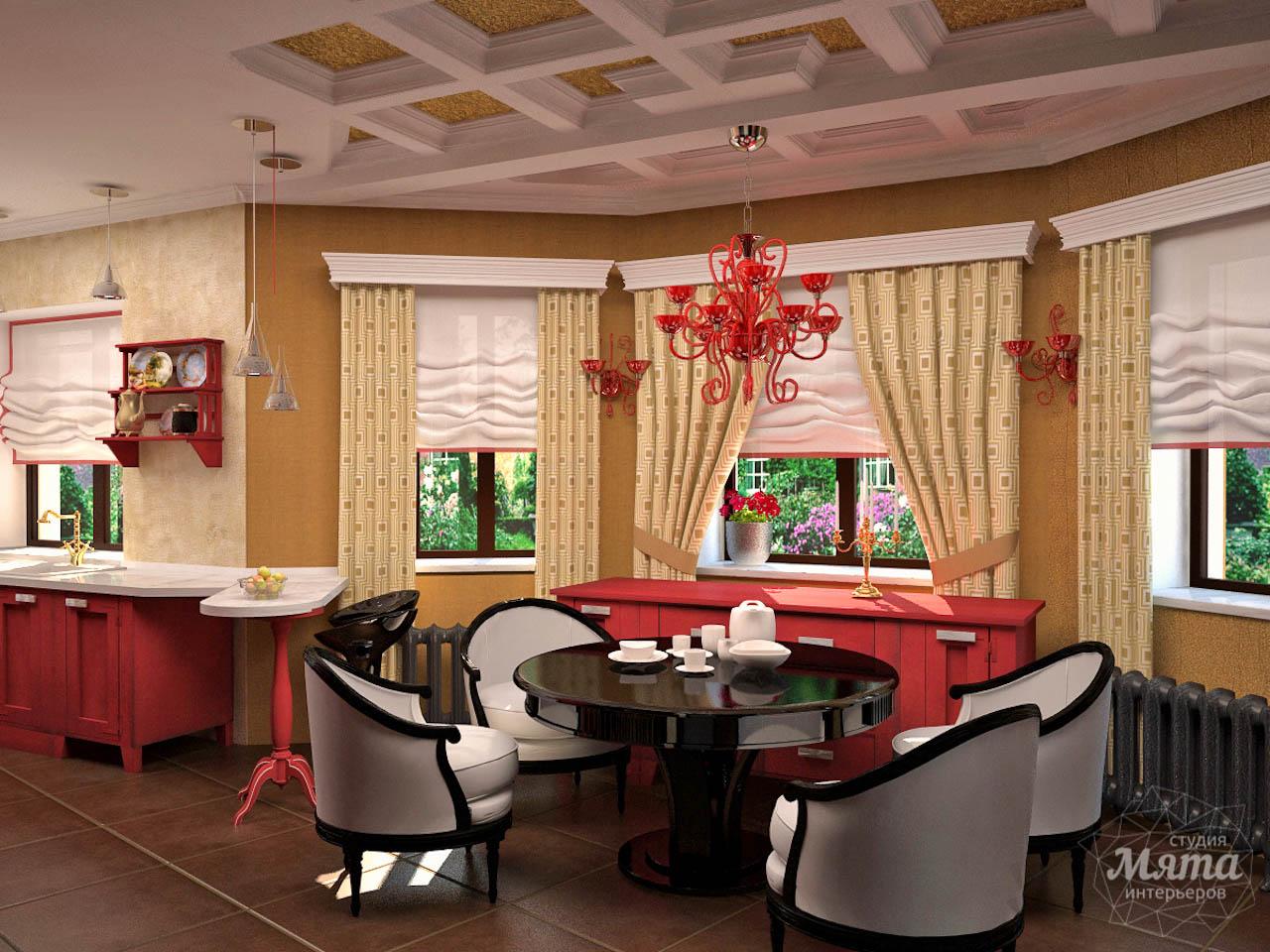 Дизайн интерьера коттеджа первого этажа по ул. Урожайная 17 img1293301247