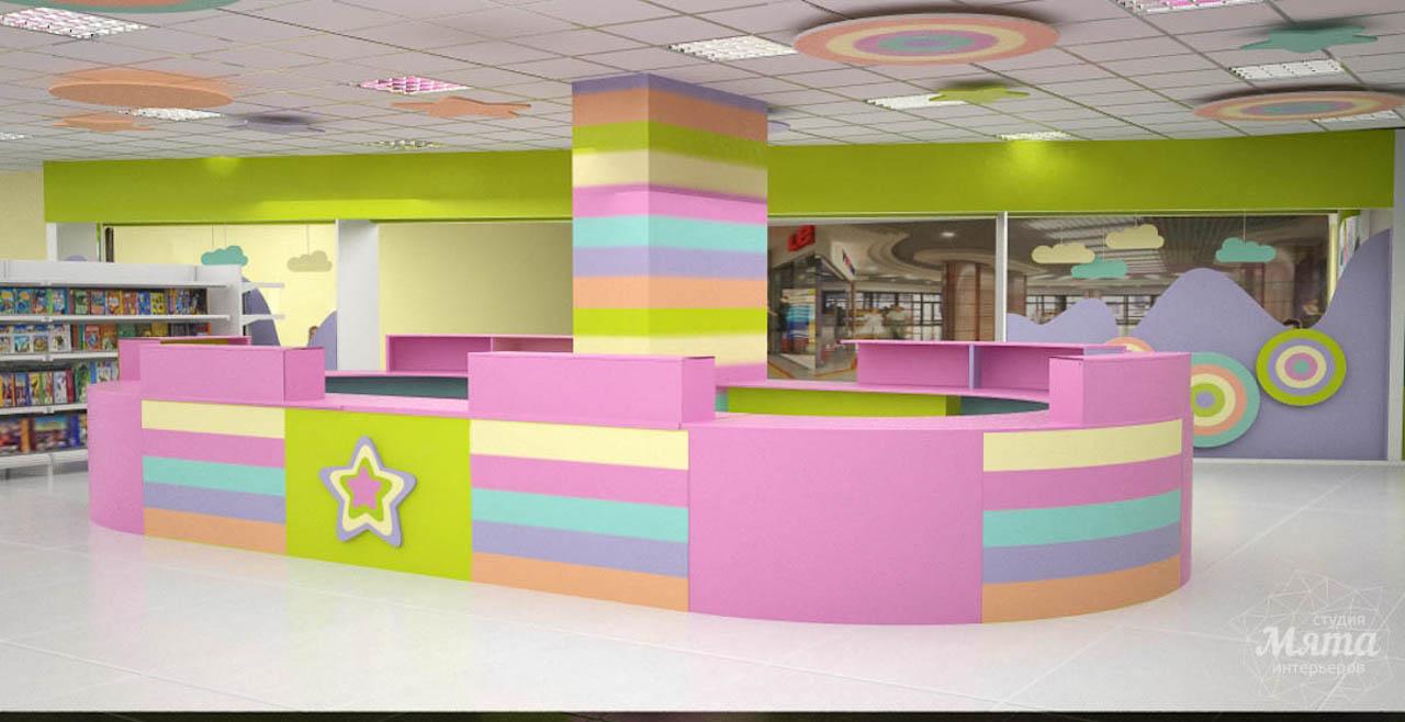Дизайн интерьера и ремонт детского гипермаркета по ул. Щербакова 4 img112228114