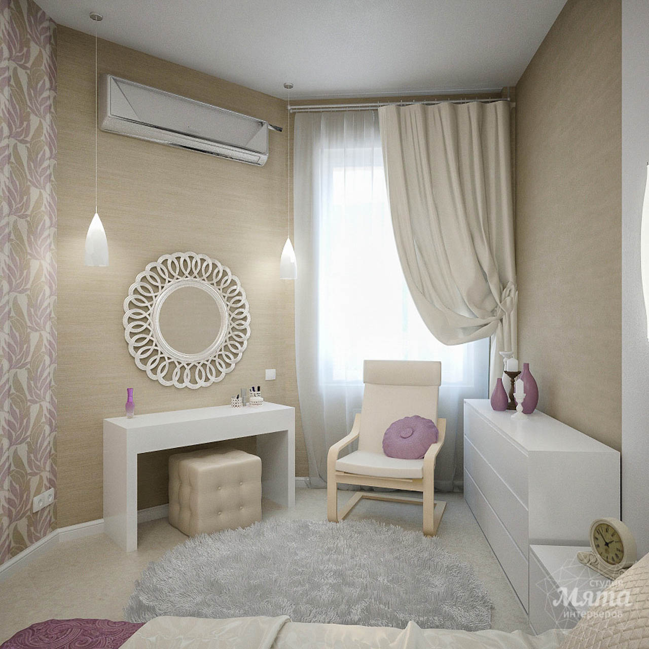 Дизайн интерьера и ремонт трехкомнатной квартиры по ул. Чкалова 124 img1741592729