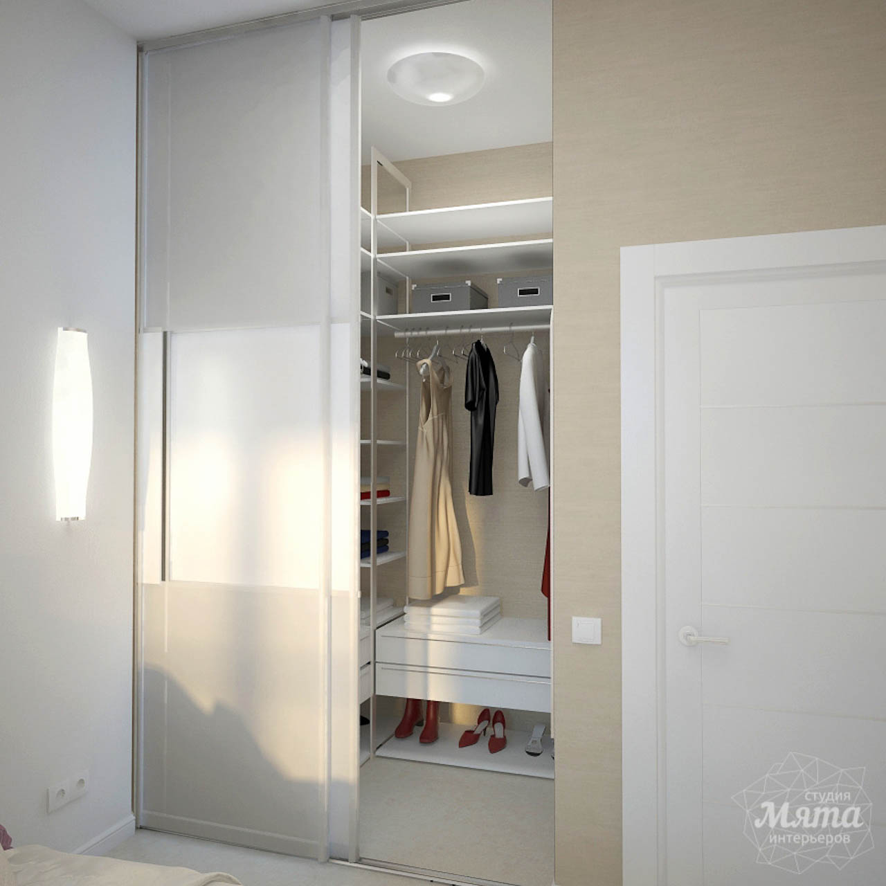 Дизайн интерьера и ремонт трехкомнатной квартиры по ул. Чкалова 124 img664051044