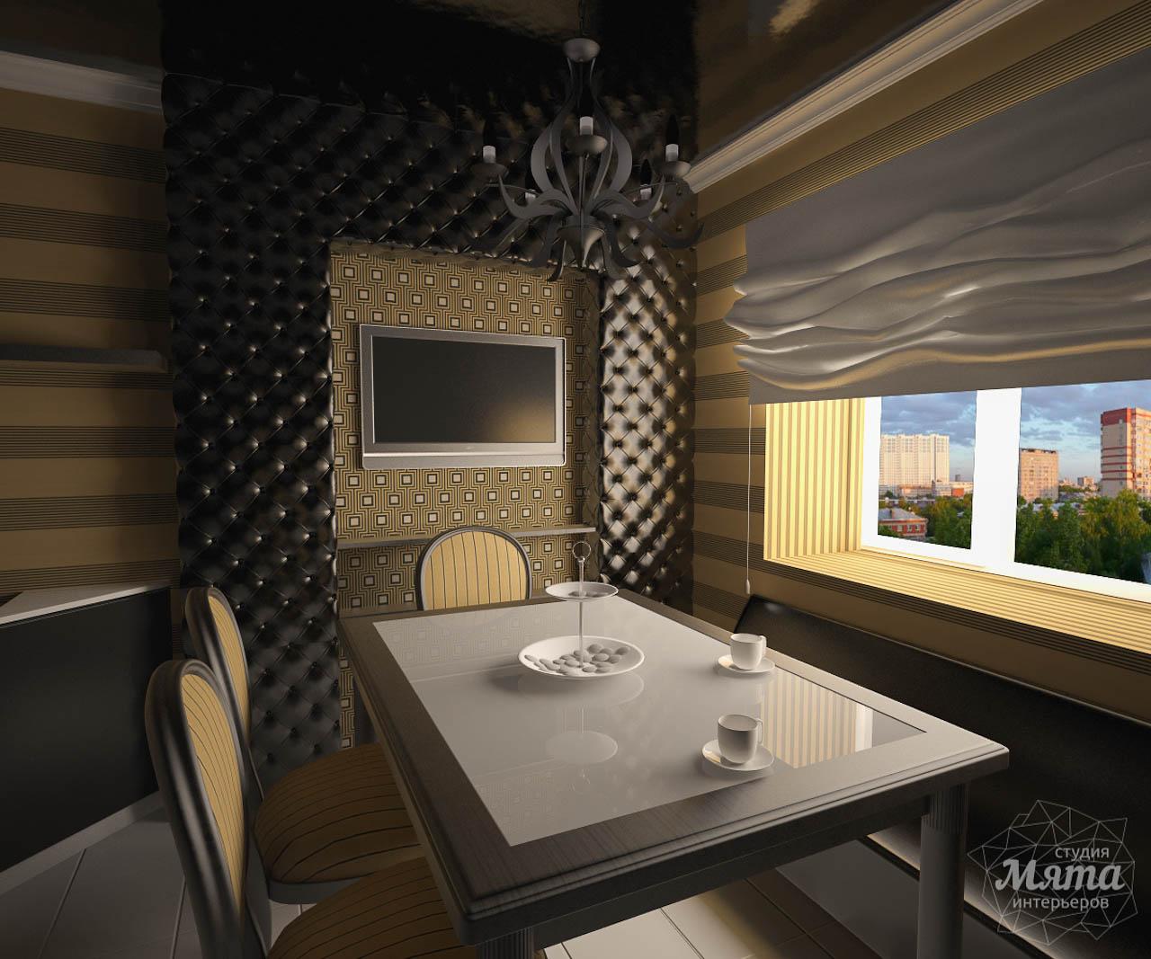Дизайн интерьера однокомнатной квартиры по ул. Посадская 34 img1828053249
