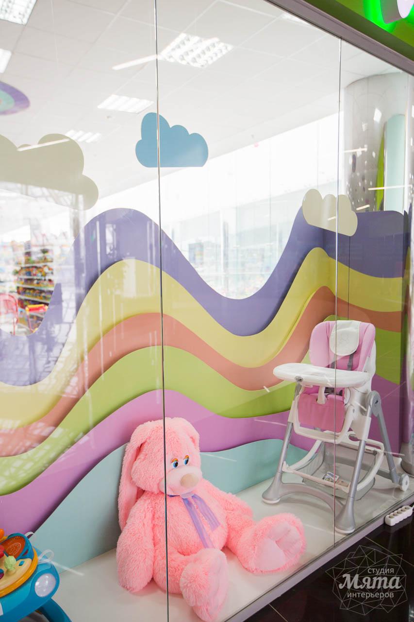 Дизайн интерьера и ремонт детского гипермаркета по ул. Щербакова 4 5