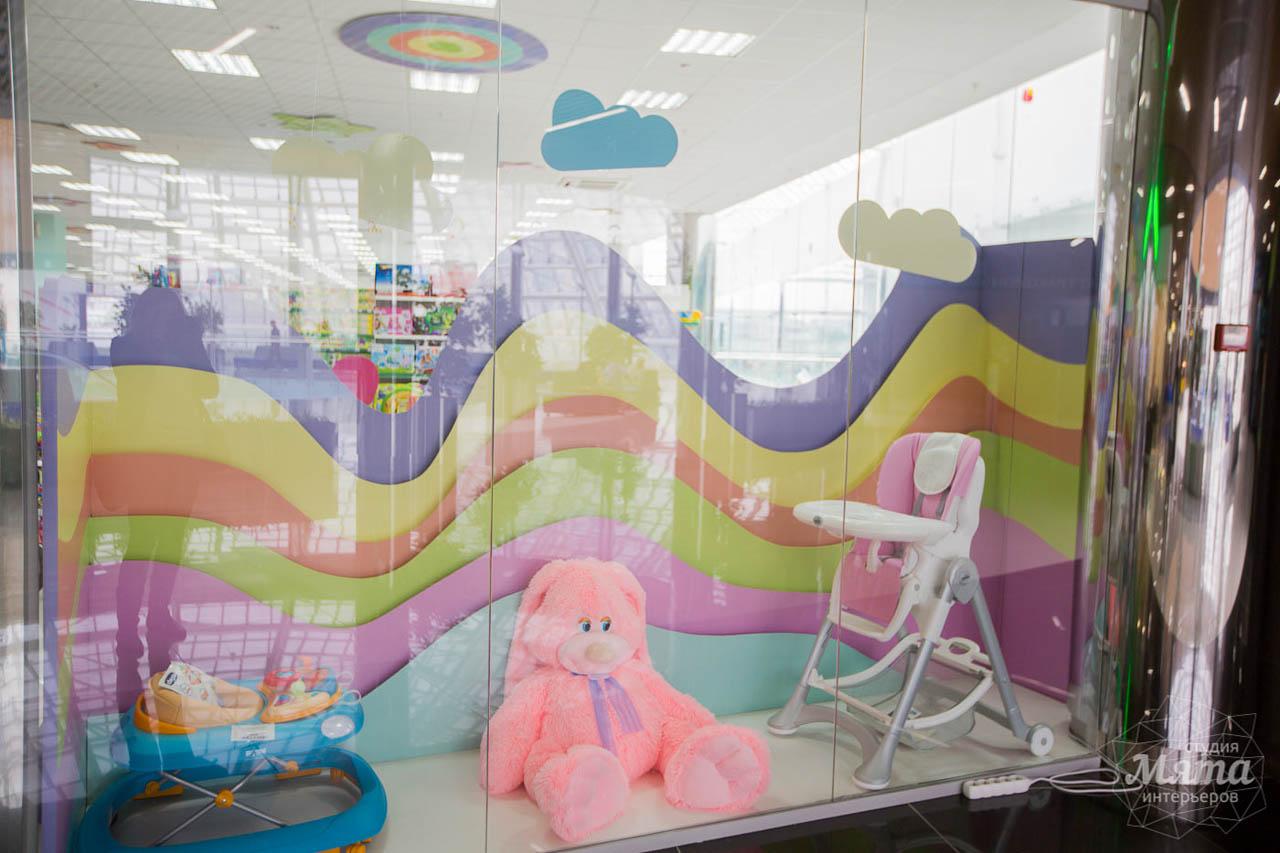 Дизайн интерьера и ремонт детского гипермаркета по ул. Щербакова 4 6