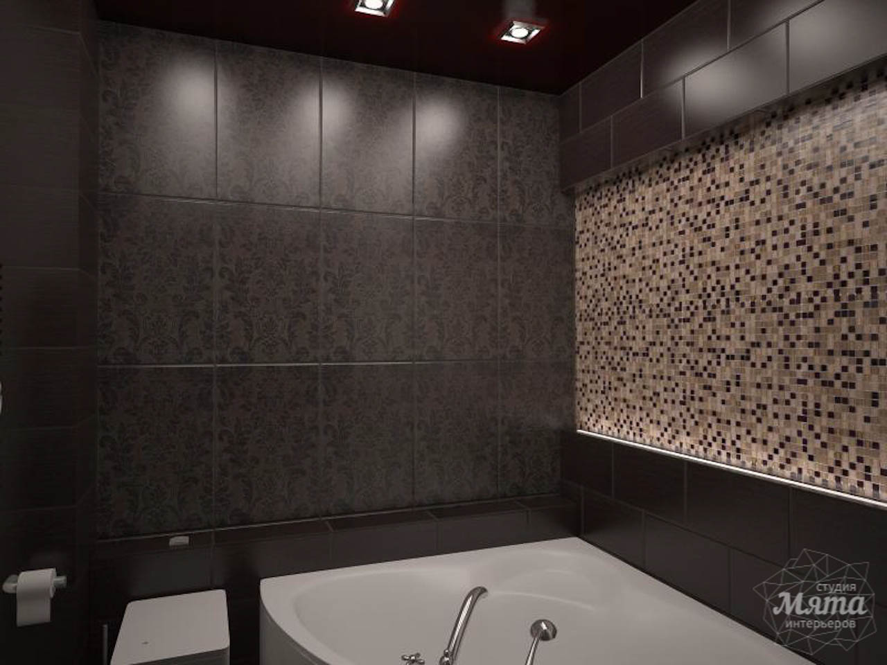 Дизайн интерьера однокомнатной квартиры по ул. Посадская 34 img1479257389
