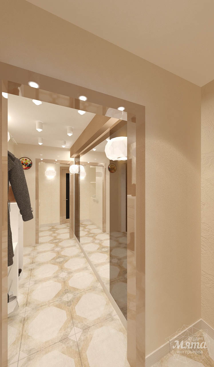 Дизайн интерьера и ремонт однокомнатной квартиры по ул. Бажова 134 img355646377