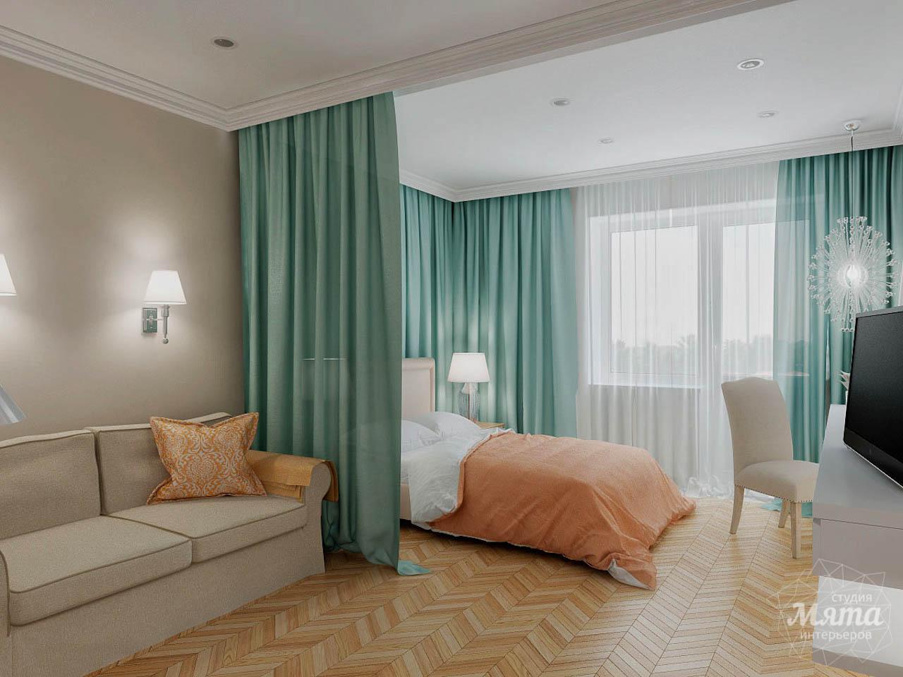 Дизайн интерьера однокомнатной квартиры по ул. Мичурина 231 img2035637133
