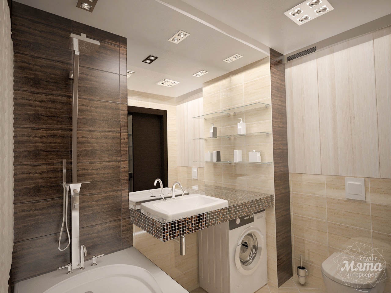 Дизайн интерьера трехкомнатной квартиры по ул. Белинского 222 img1000924499