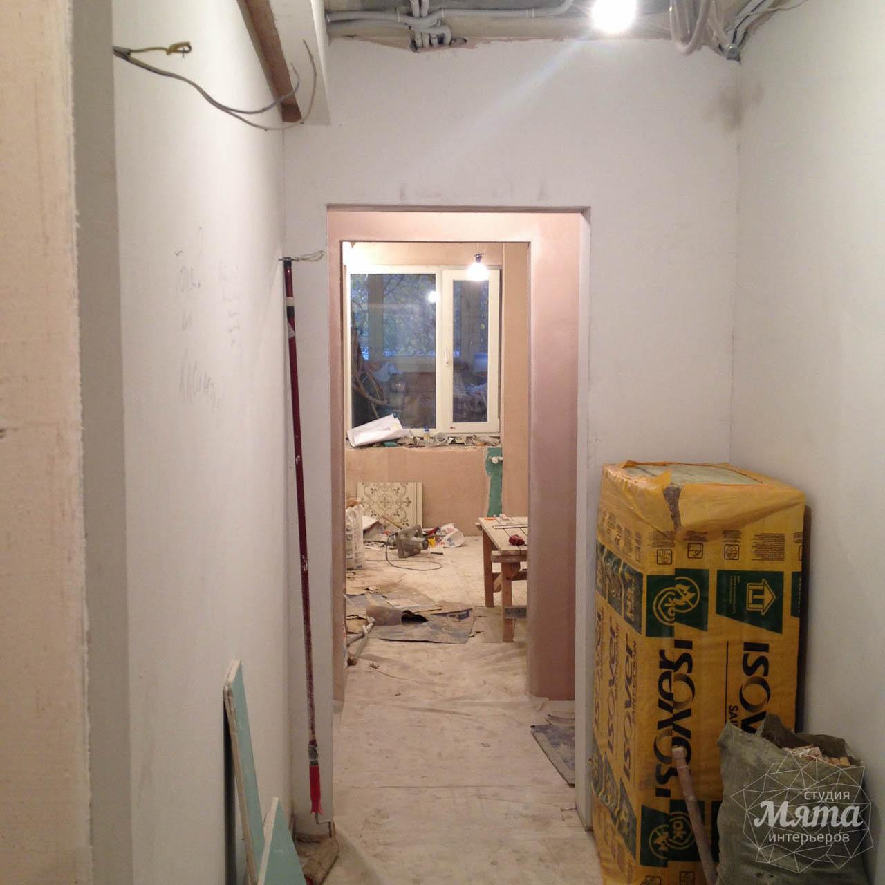 Дизайн интерьера и ремонт однокомнатной квартиры по ул. Бажова 134 3
