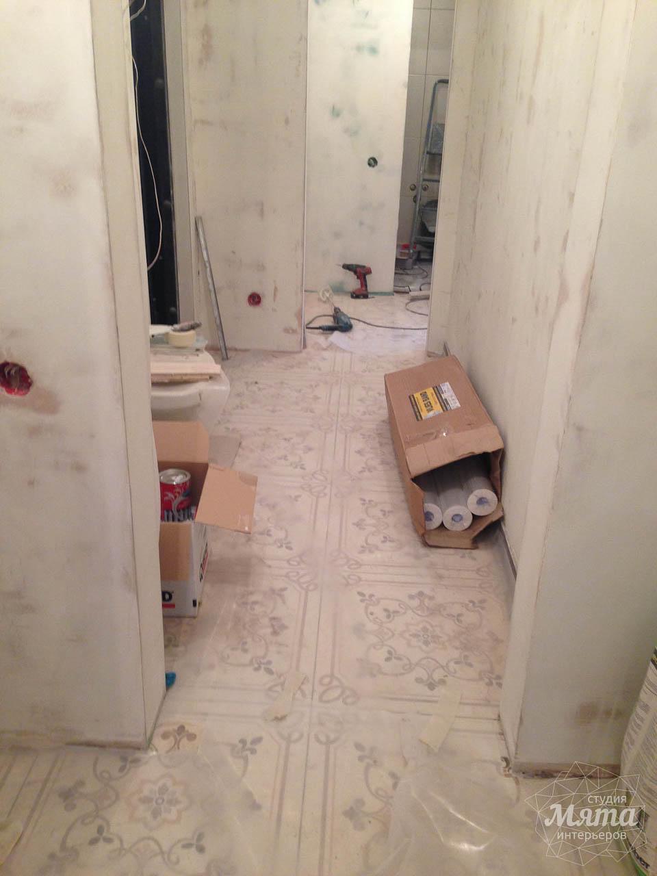 Дизайн интерьера и ремонт однокомнатной квартиры по ул. Бажова 134 11