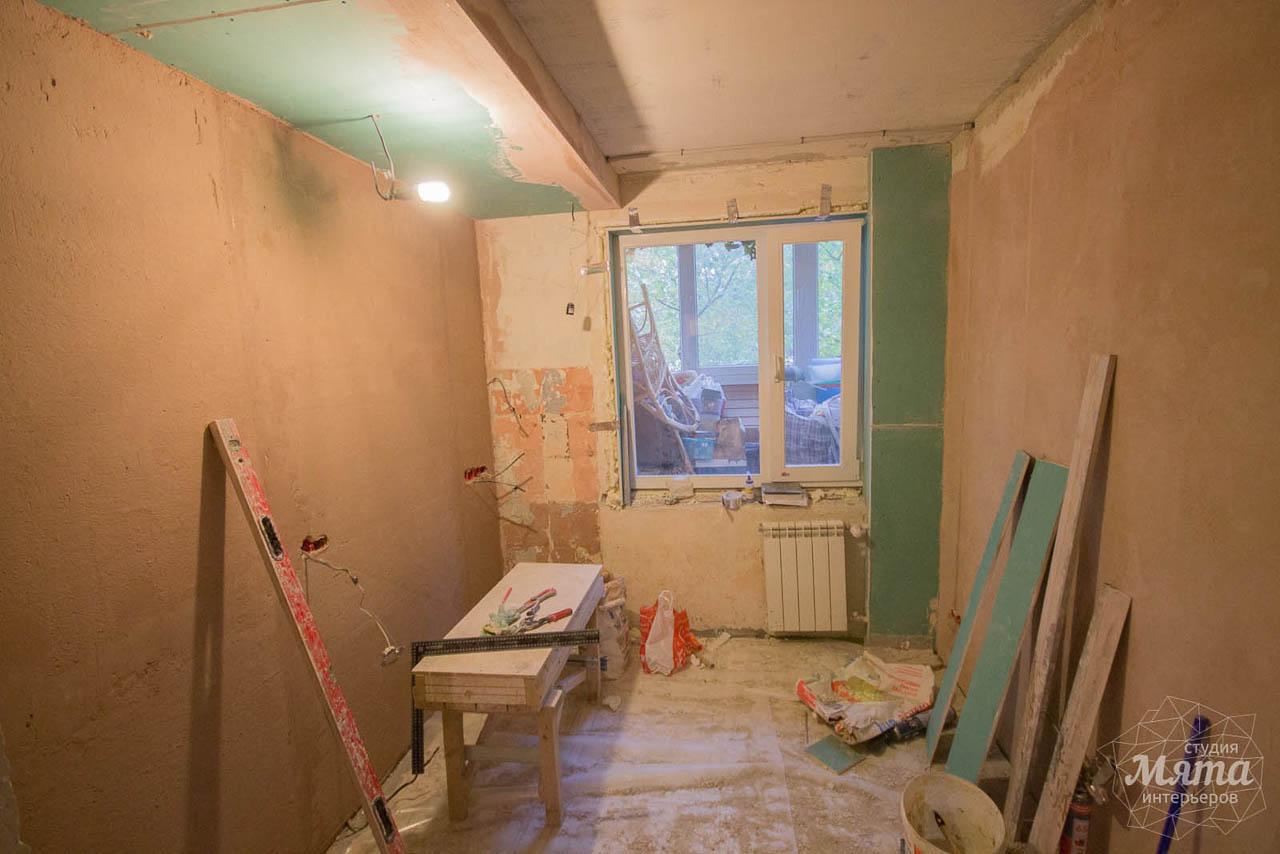 Дизайн интерьера и ремонт однокомнатной квартиры по ул. Бажова 134 2