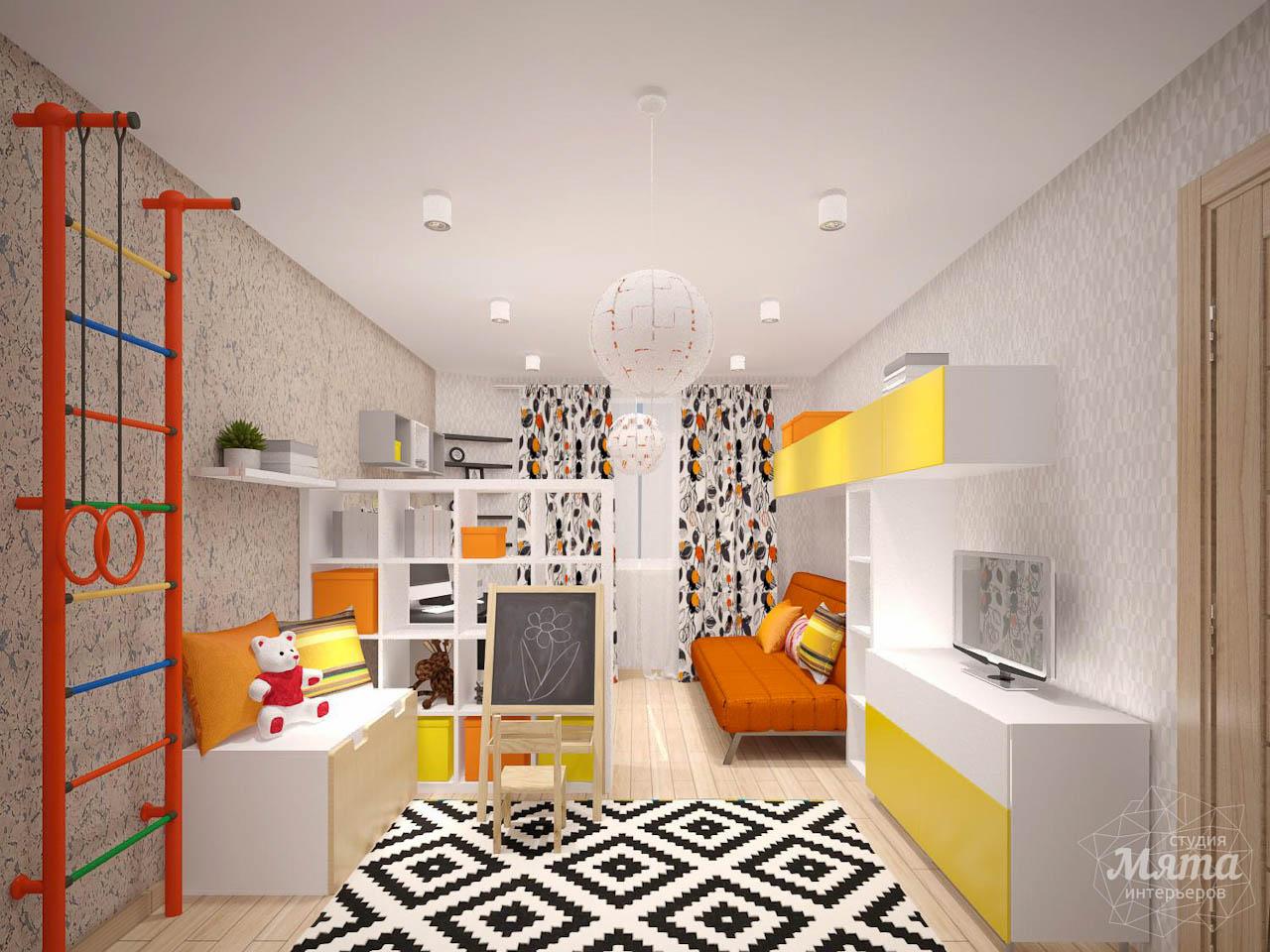 Дизайн интерьера однокомнатной квартиры в современном стиле по ул. Агрономическая 47 img1238068070