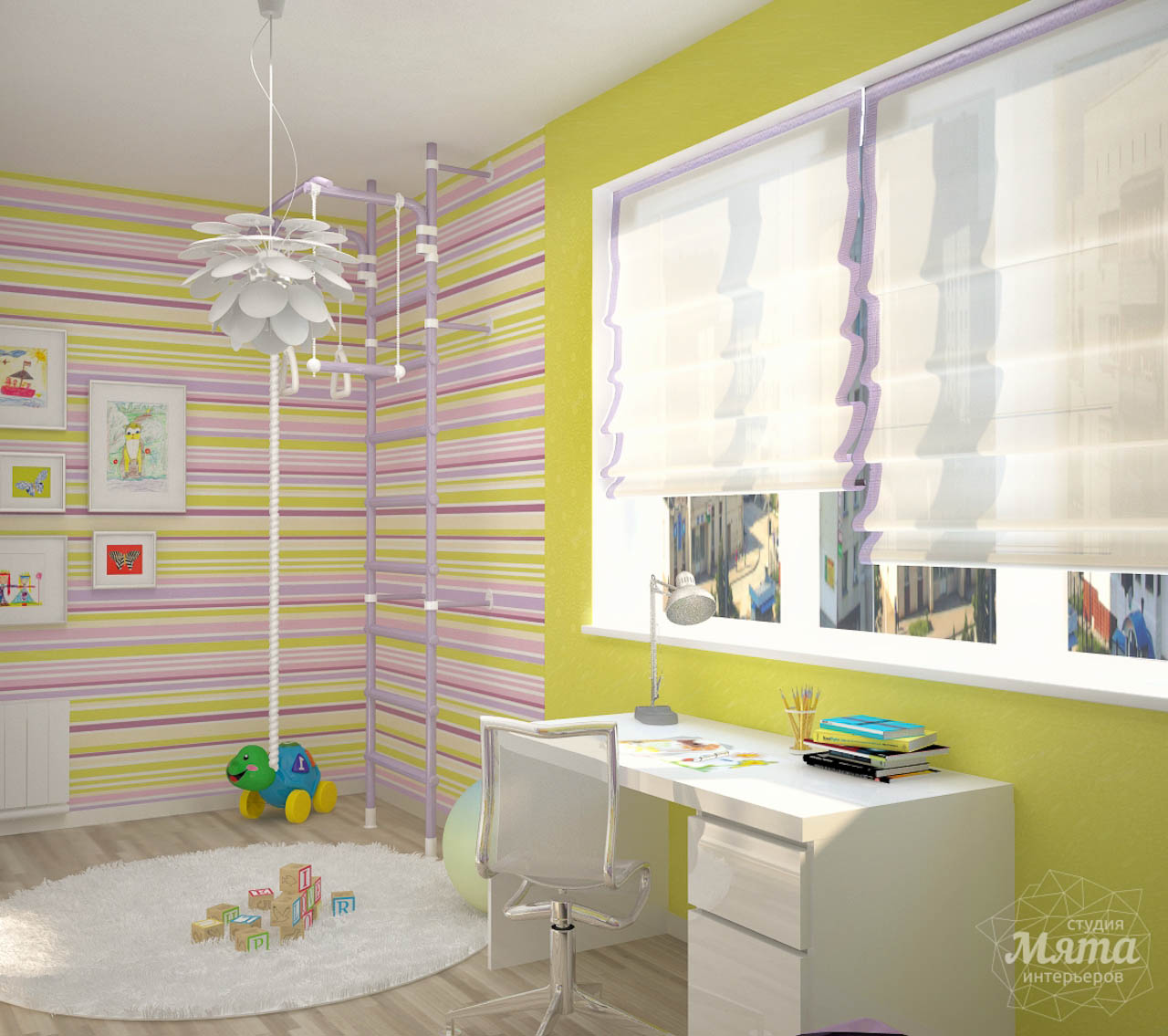 Дизайн интерьера и ремонт трехкомнатной квартиры по ул. Попова 33а img409689381