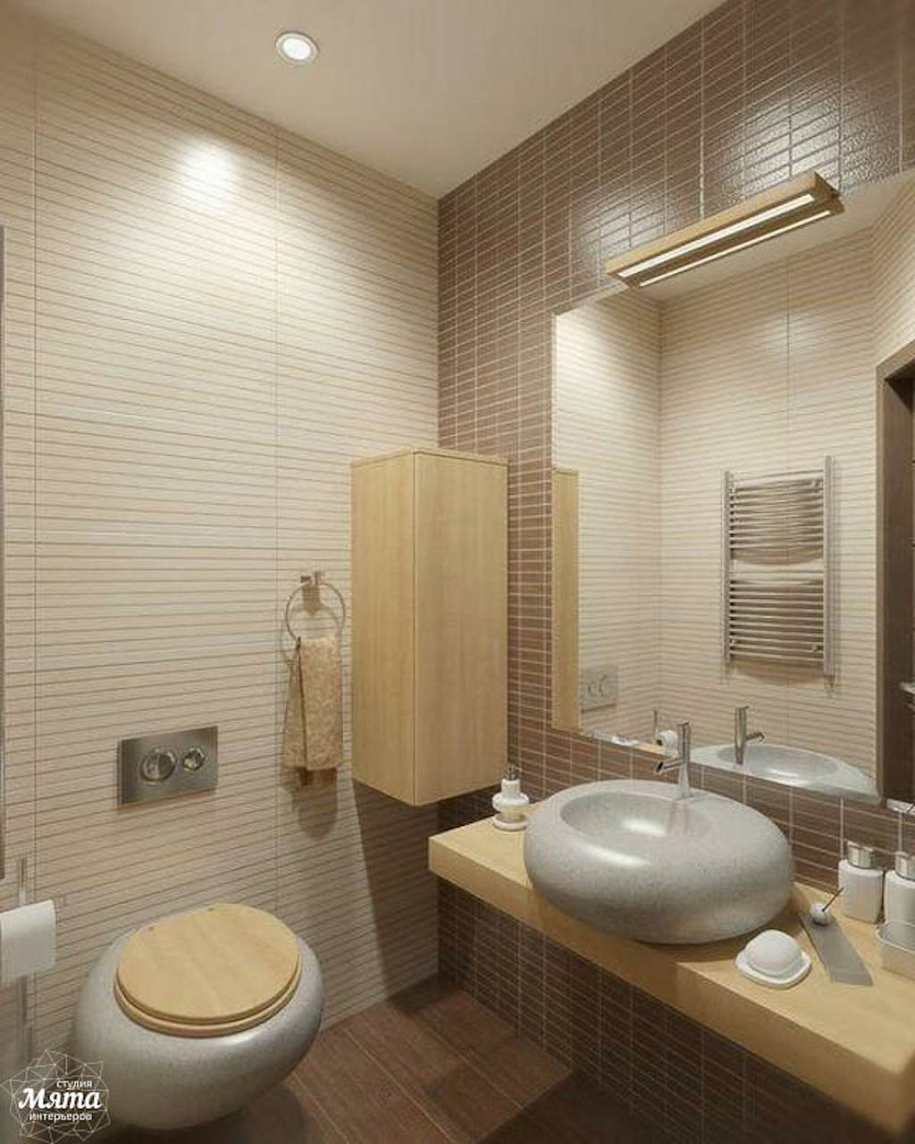 Дизайн интерьера трехкомнатной квартиры по ул. Куйбышева 21-2 img380495125