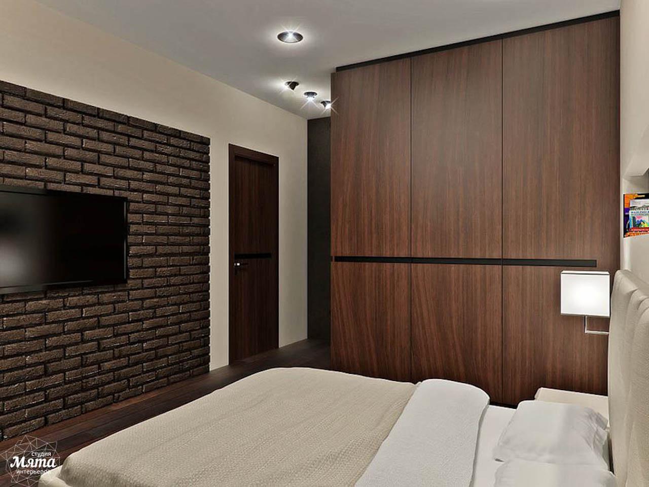 Дизайн интерьера однокомнатной квартиры в стиле хай тек по ул. Щербакова 35 img1058004509