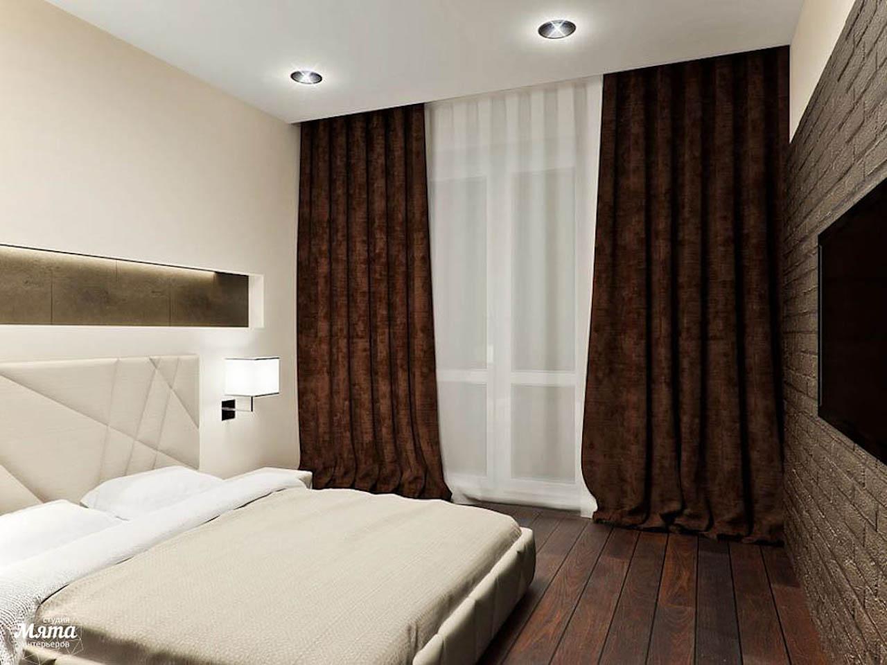 Дизайн интерьера однокомнатной квартиры в стиле хай тек по ул. Щербакова 35 img1598299440