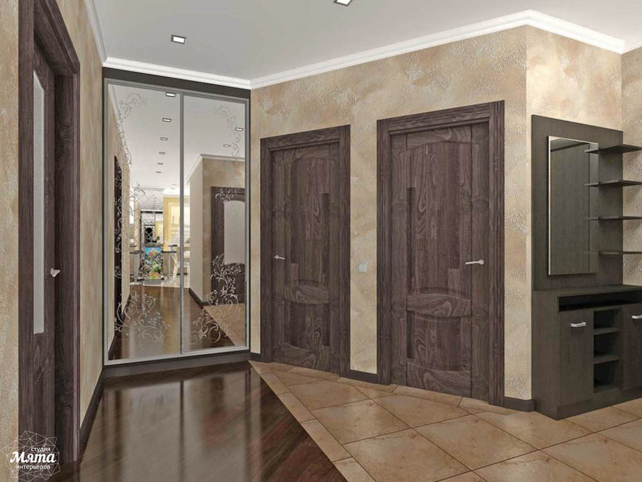 Дизайн интерьера двухкомнатной квартиры по ул. Юмашева 10 img1206790968