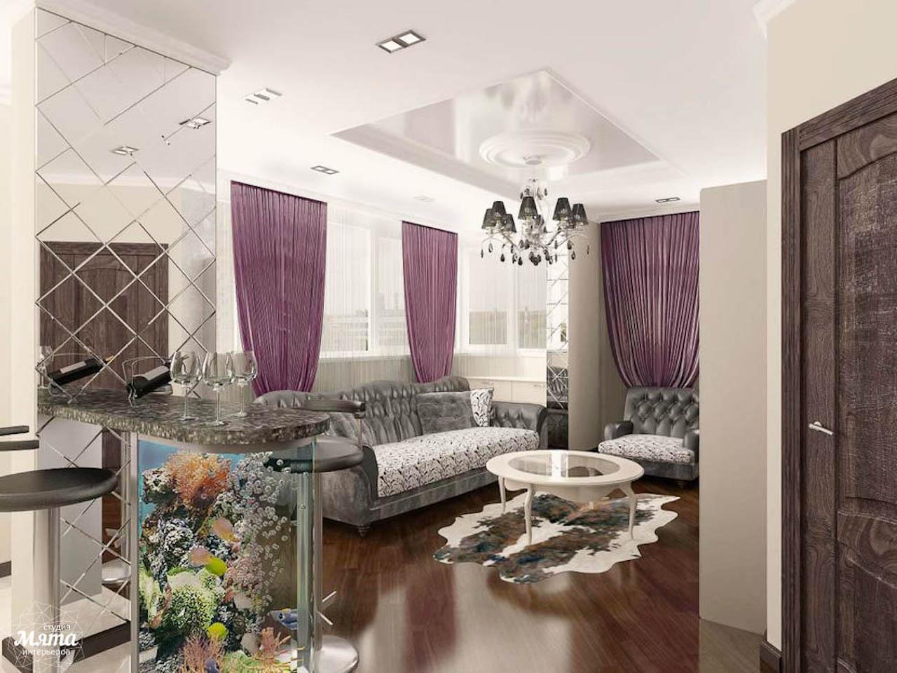 Дизайн интерьера двухкомнатной квартиры по ул. Юмашева 10 img2137566102