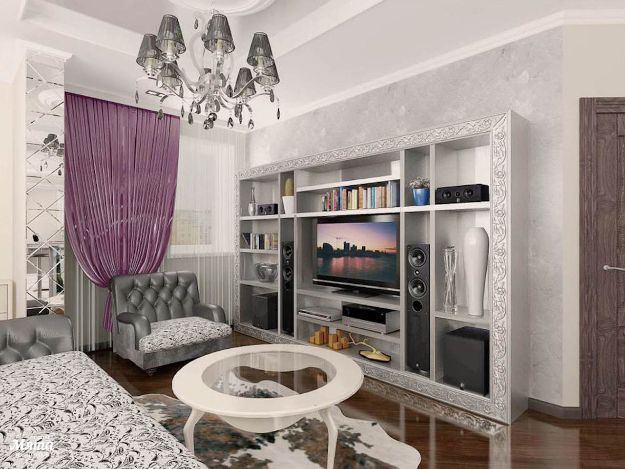 Дизайн интерьера двухкомнатной квартиры по ул. Юмашева 10 img908254631