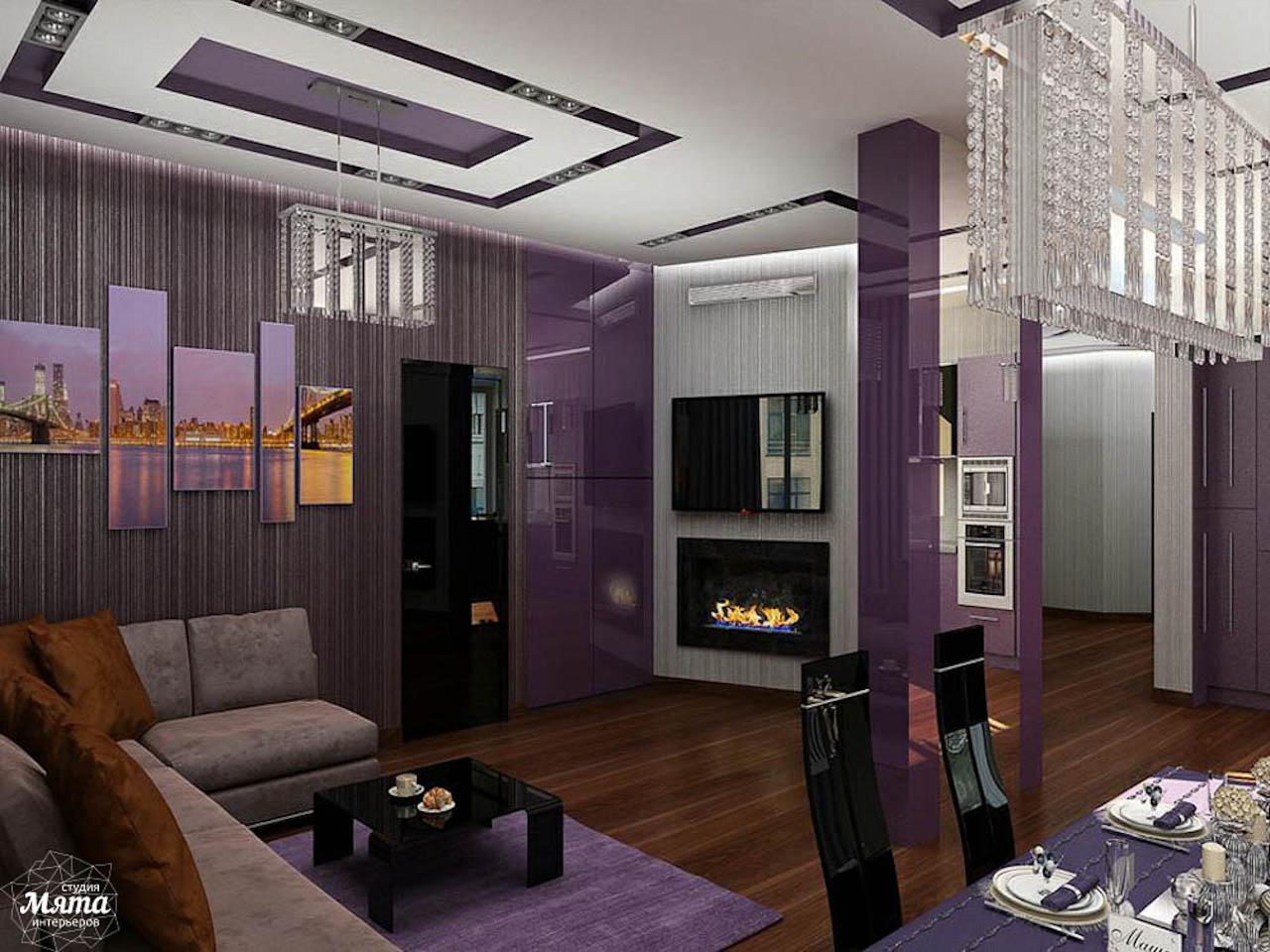 Дизайн интерьера трехкомнатной квартиры по ул. Николая Никонова 4 img1016038474