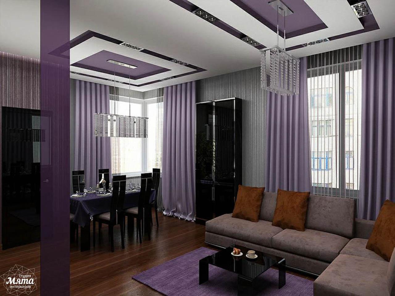 Дизайн интерьера трехкомнатной квартиры по ул. Николая Никонова 4 img737686736