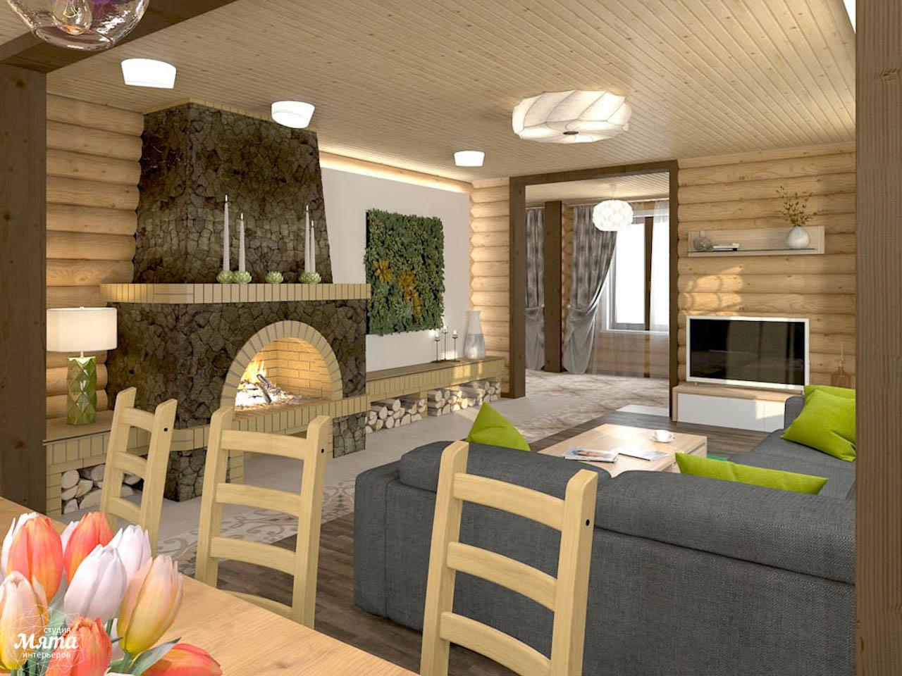 Дизайн интерьера коттеджа в п. В. Сысерть  img433049954