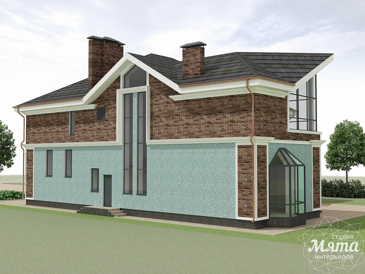 Дизайн фасада коттеджа в п. Палникс img790429159