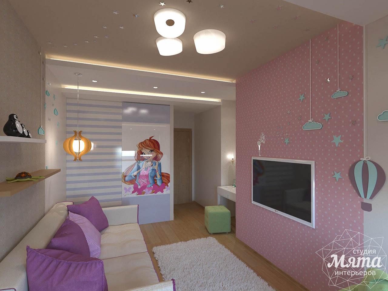 Дизайн интерьера трехкомнатной квартиры по ул. Мельникова 27 img2076930631