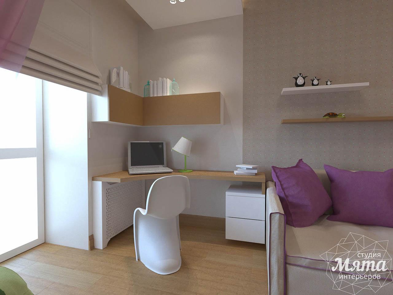 Дизайн интерьера трехкомнатной квартиры по ул. Мельникова 27 img1661408422