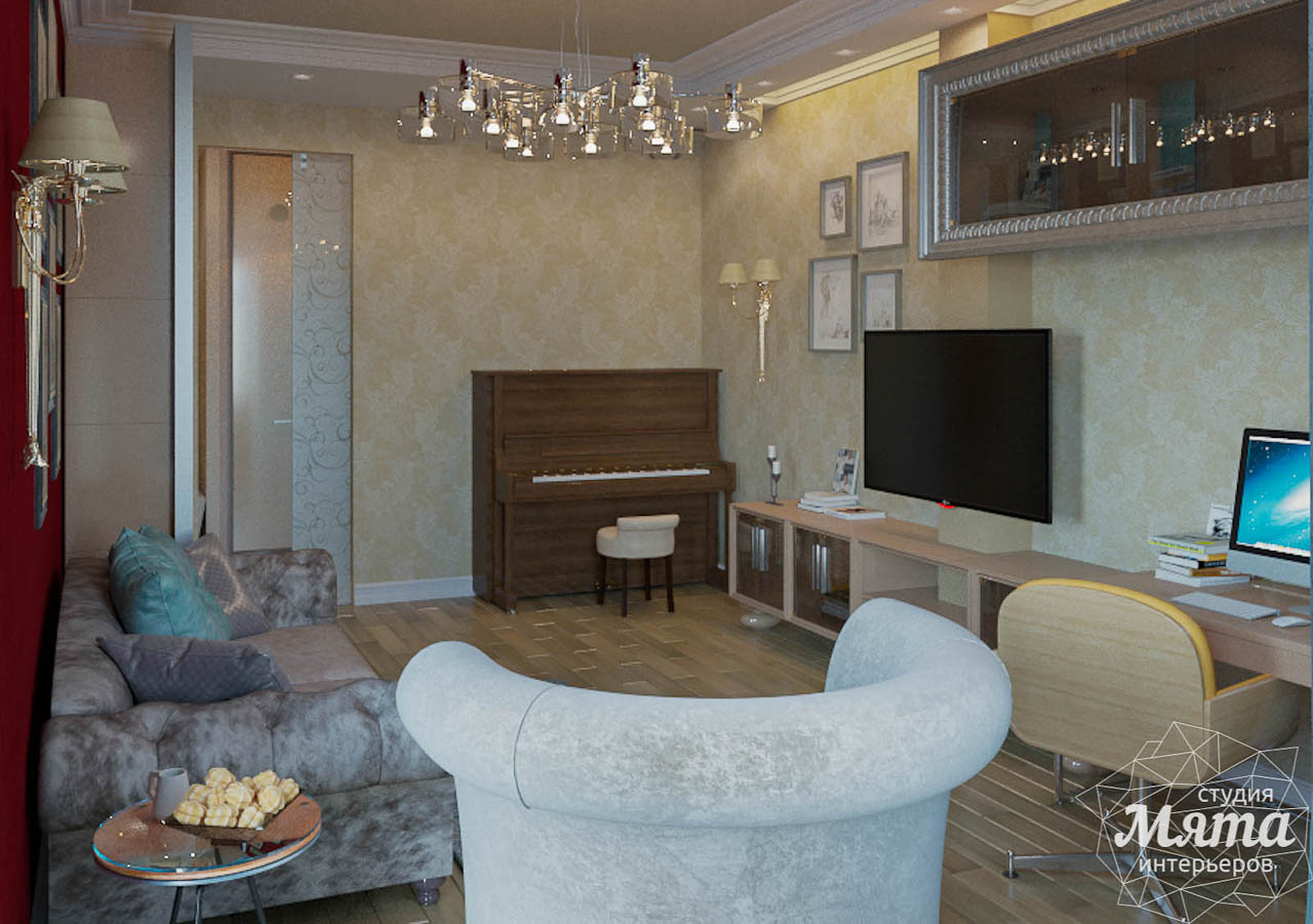 Дизайн интерьера и ремонт трехкомнатной квартиры в Карасьозерском 2 img1385925018