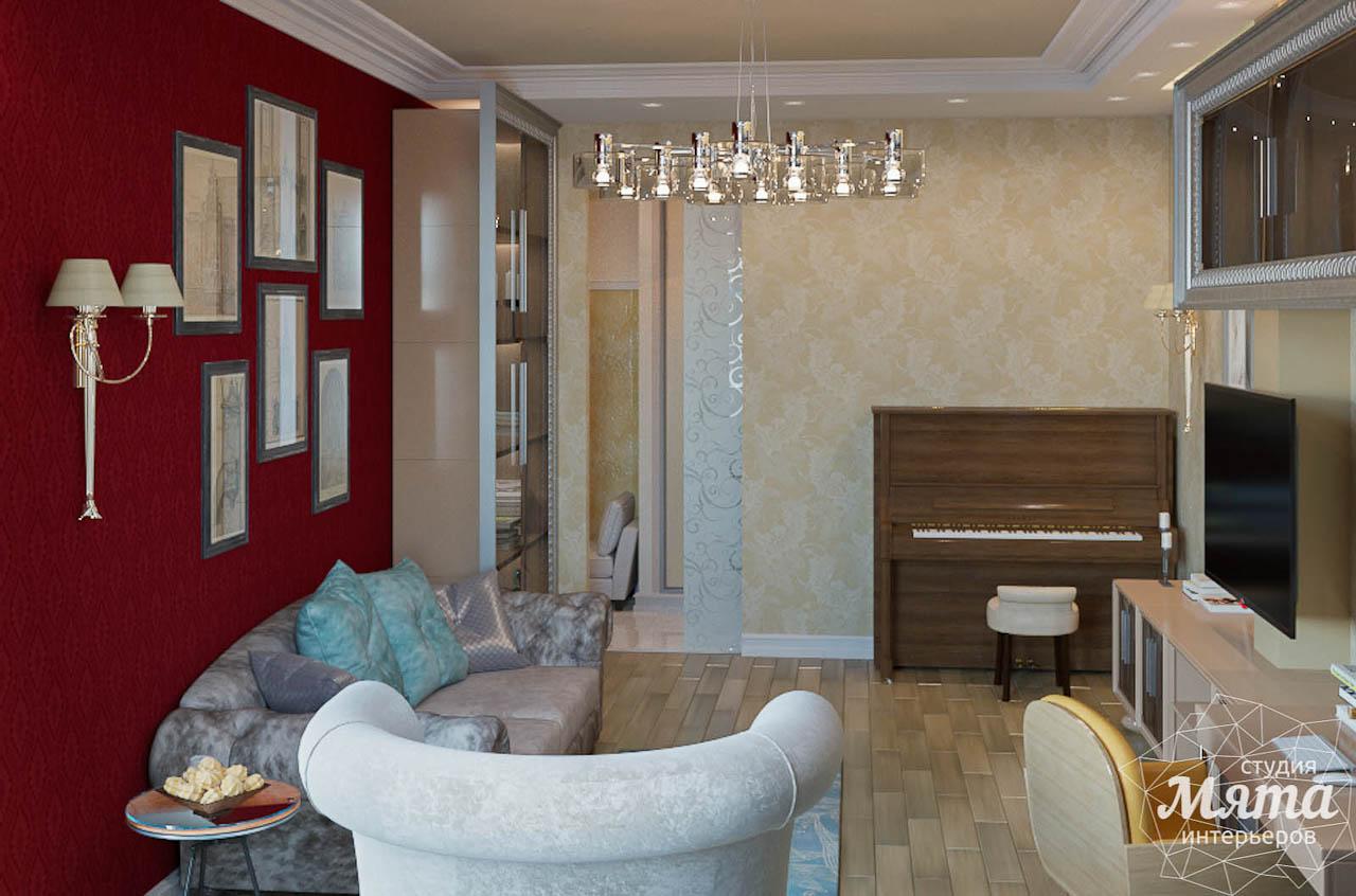 Дизайн интерьера и ремонт трехкомнатной квартиры в Карасьозерском 2 img232730632