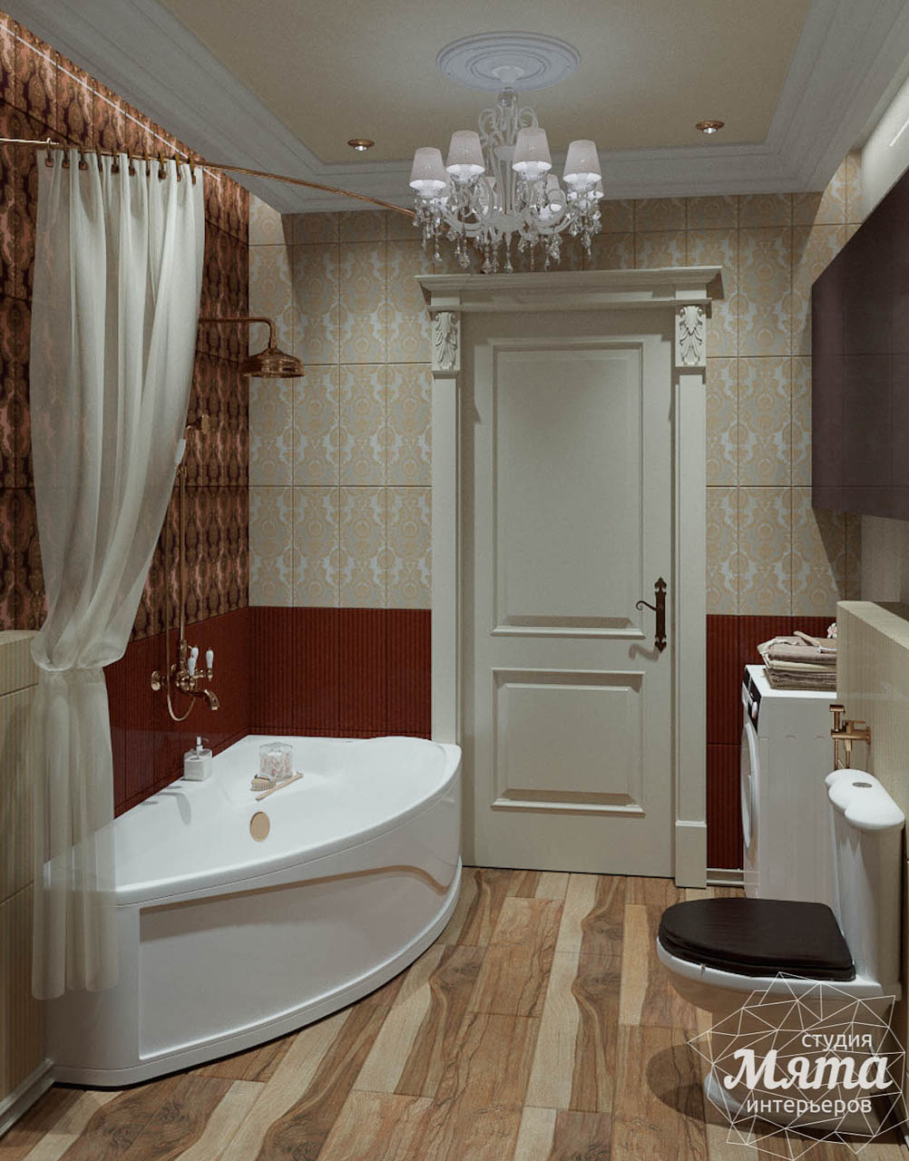 Дизайн интерьера и ремонт трехкомнатной квартиры в Карасьозерском 2 img1851097192