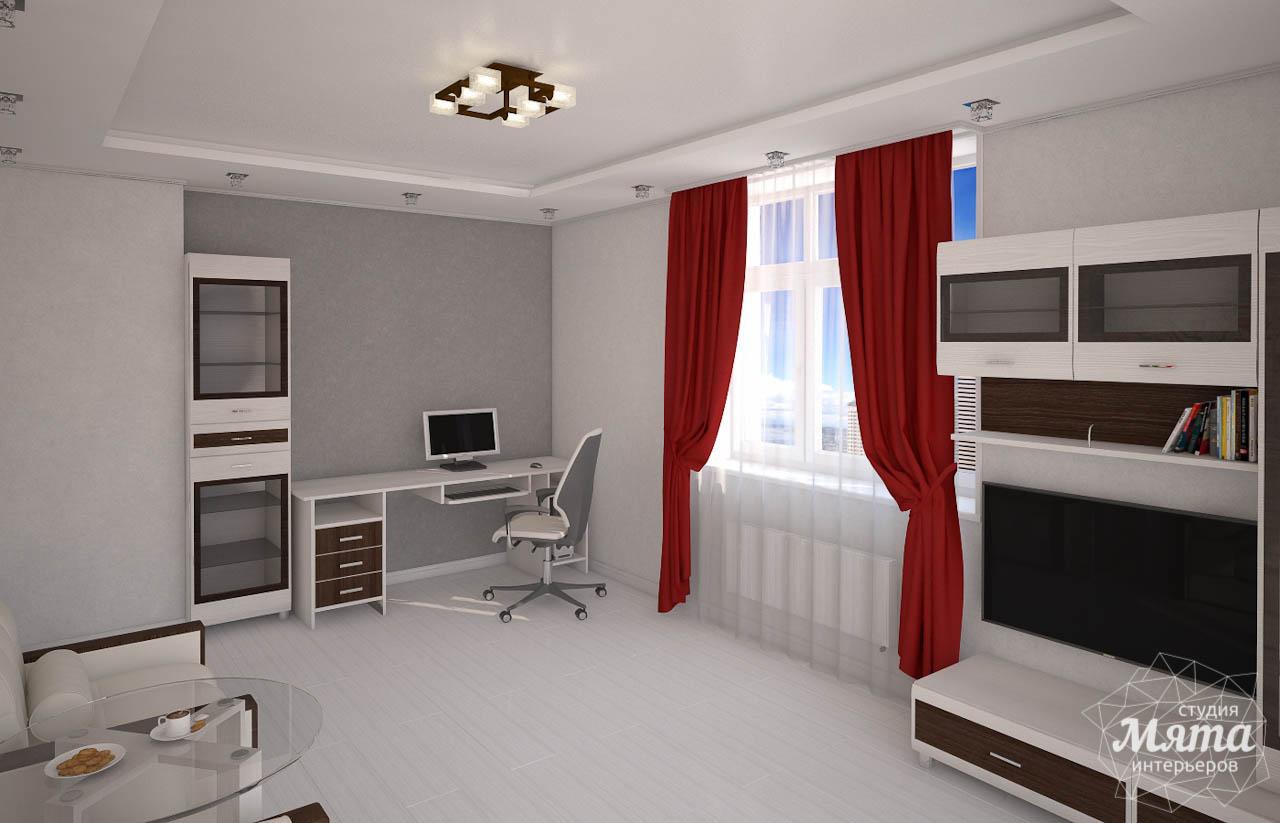 Дизайн интерьера  и ремонт трехкомнатной квартиры по ул. Машинная 44 img20990873