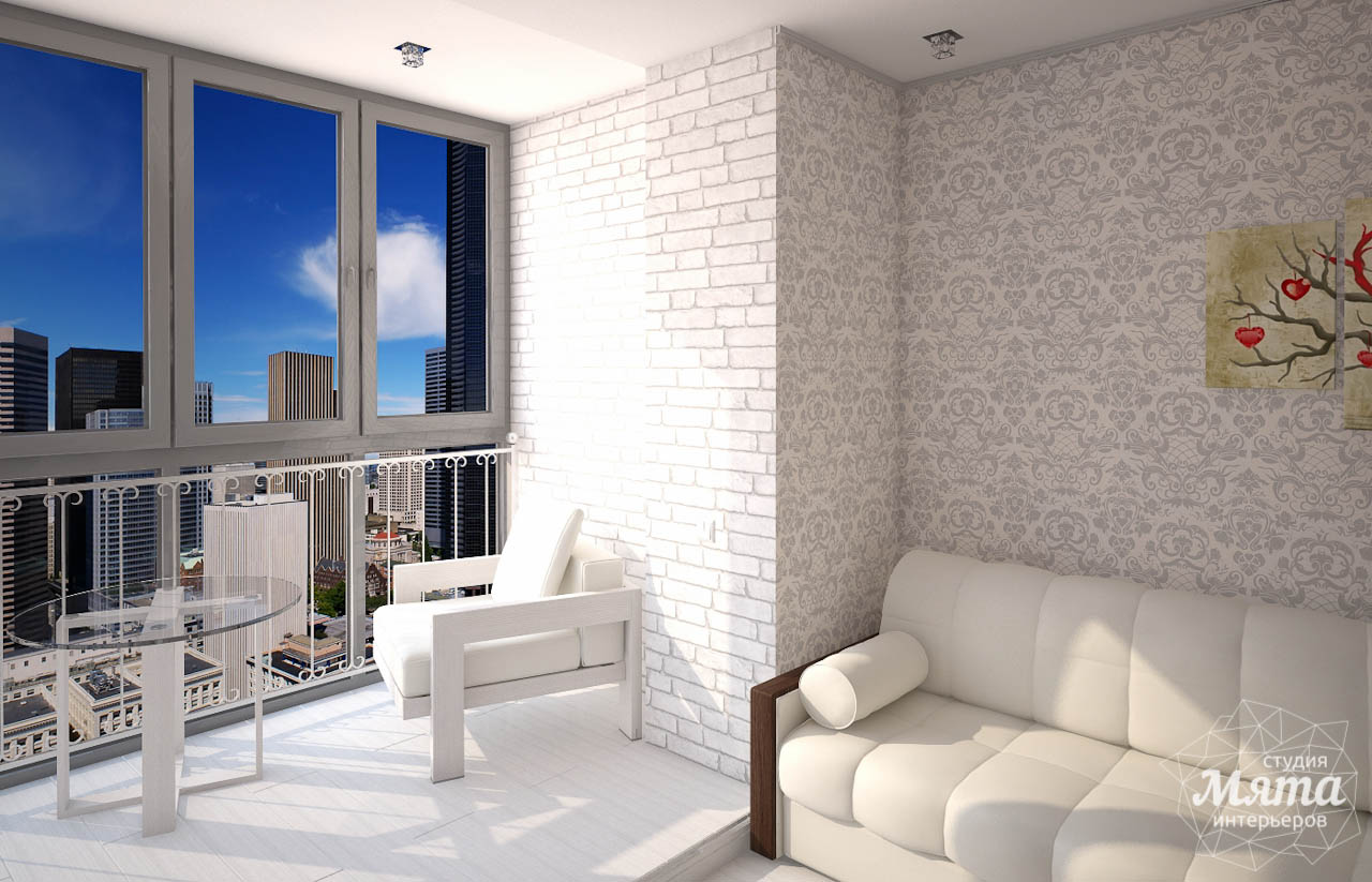 Дизайн интерьера  и ремонт трехкомнатной квартиры по ул. Машинная 44 img550715960