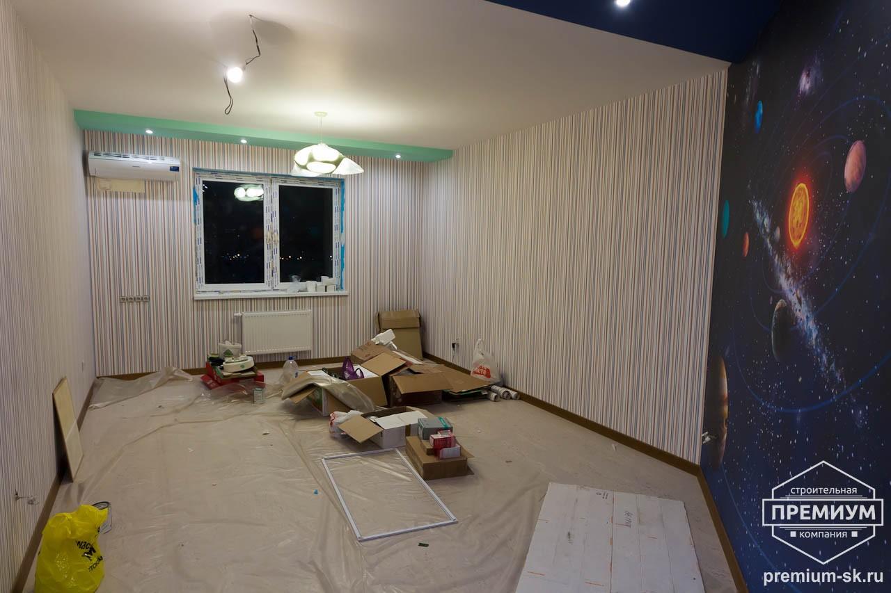 Дизайн интерьера и ремонт трехкомнатной квартиры по ул. Авиационная, 16  57