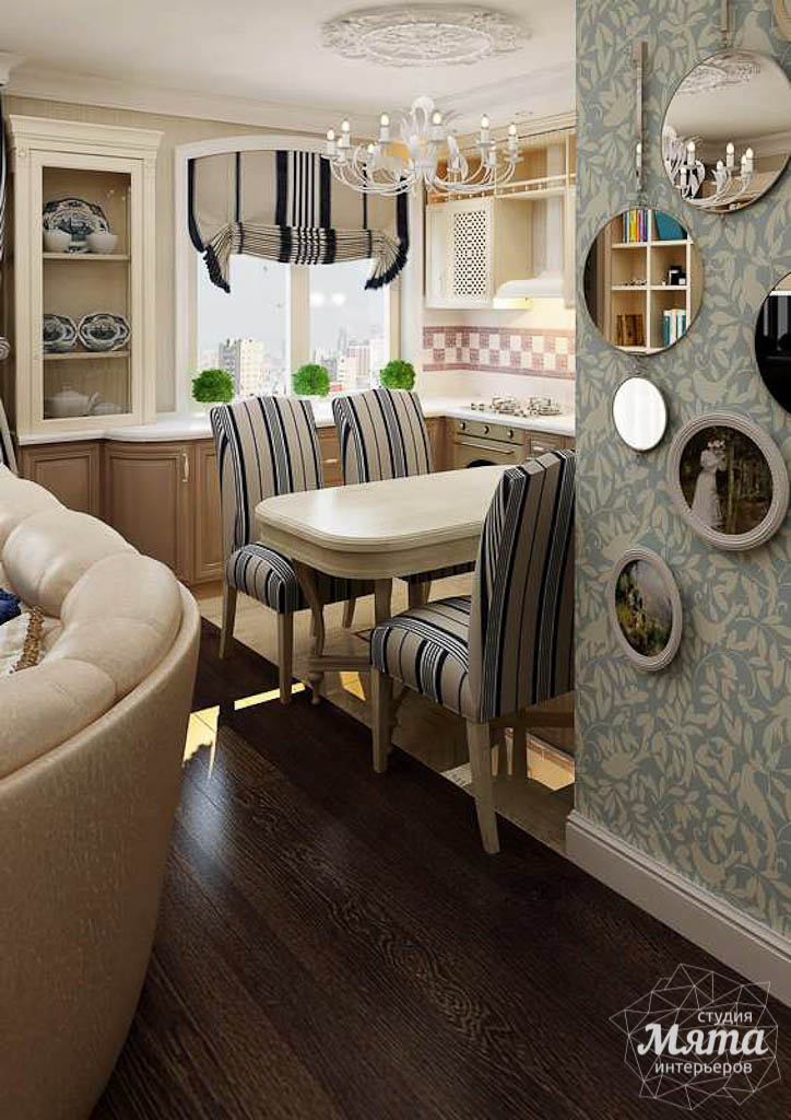 Дизайн интерьера однокомнатной квартиры по ул. Юмашева 10 img926040595