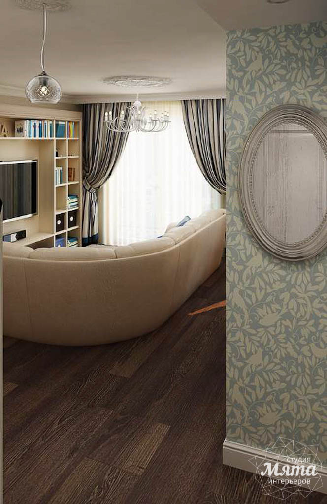 Дизайн интерьера однокомнатной квартиры по ул. Юмашева 10 img897696129
