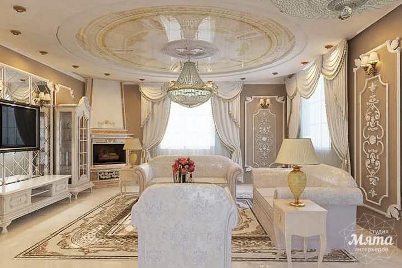 Дизайн интерьера коттеджа классическом стиле в Карасьозерске img454007563