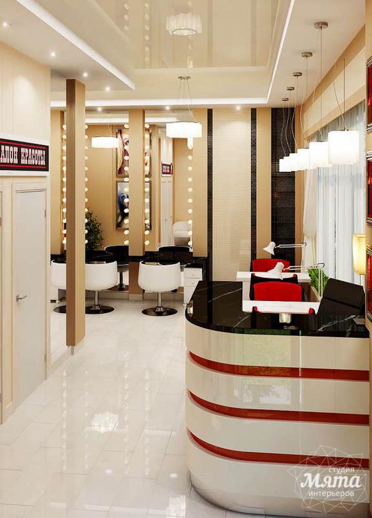 Дизайн интерьера парикмахерской по ул. Рябинина 19 img493399182